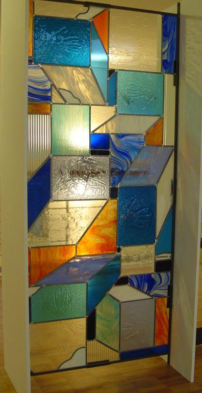 Glass art studio afvda di angela ferraris lavorazione - Pannello decorativo ...