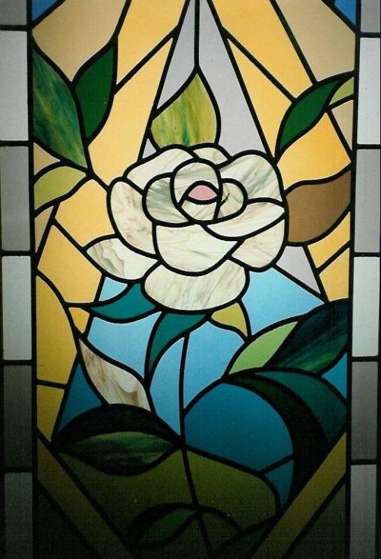 Glass art studio afvda di angela ferraris lavorazione for Disegni vetrate
